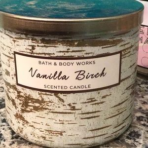 Bbw vanilla birch candle
